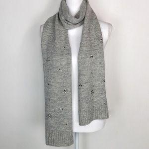 NWT Banana Republic Gray Italian Wool Scarf